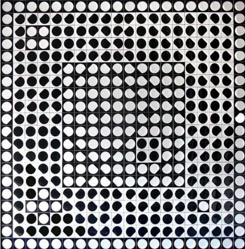"Vasarely ""Caopeo"", 1964"