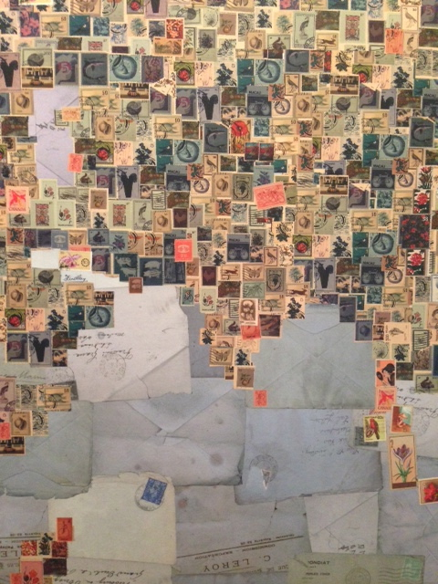 Stamp World Map wallcovering by Paul Smith, 2011