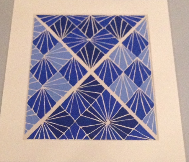Textile artwork, Sonia Delaunay