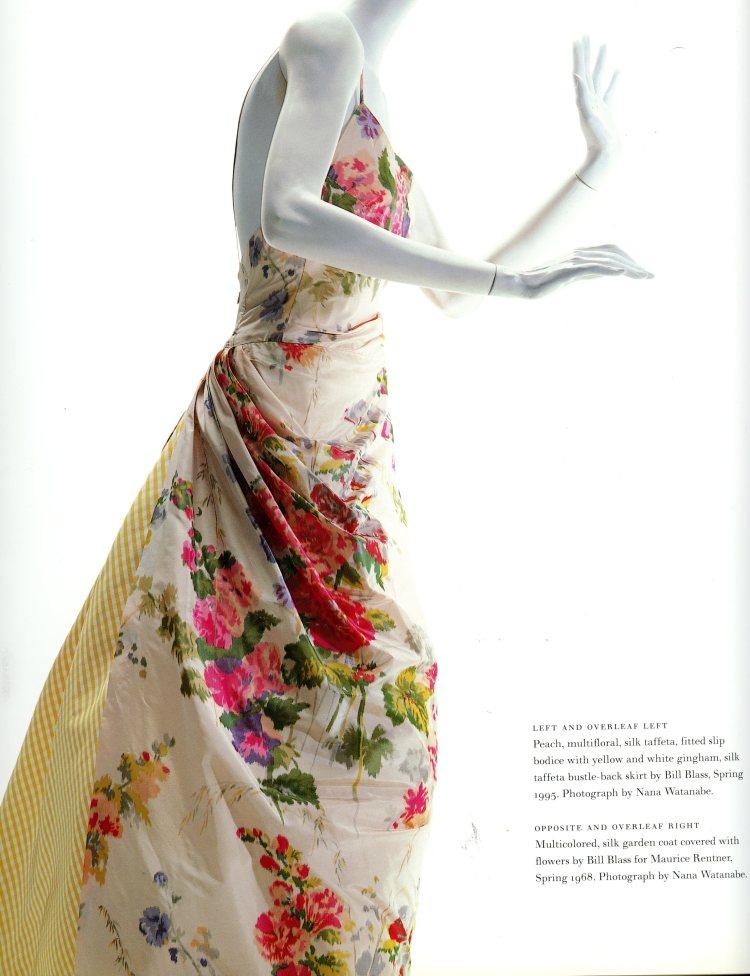 Bill Blass dress, 1995