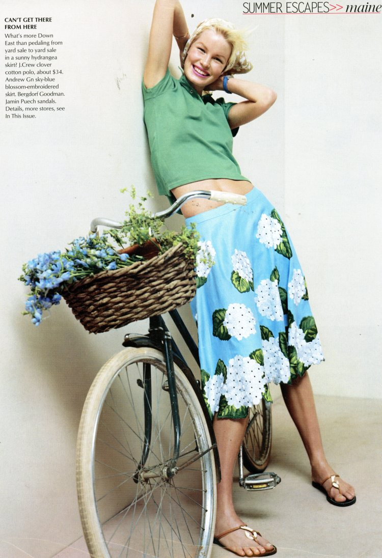 Skirt by Andrew Gn, Vogue