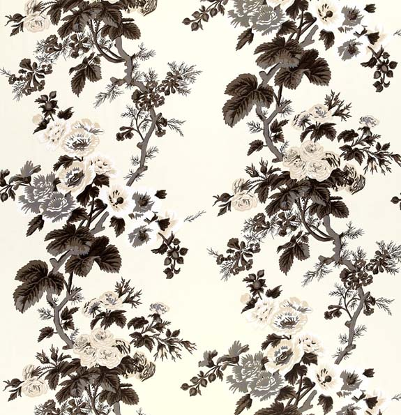 Pyne Hollyhock Print by Schumacher