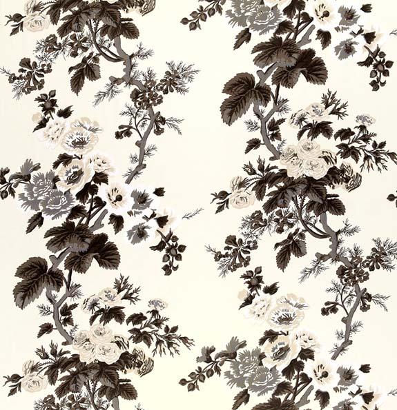 Pyne Hollyhock Print by Schumacher
