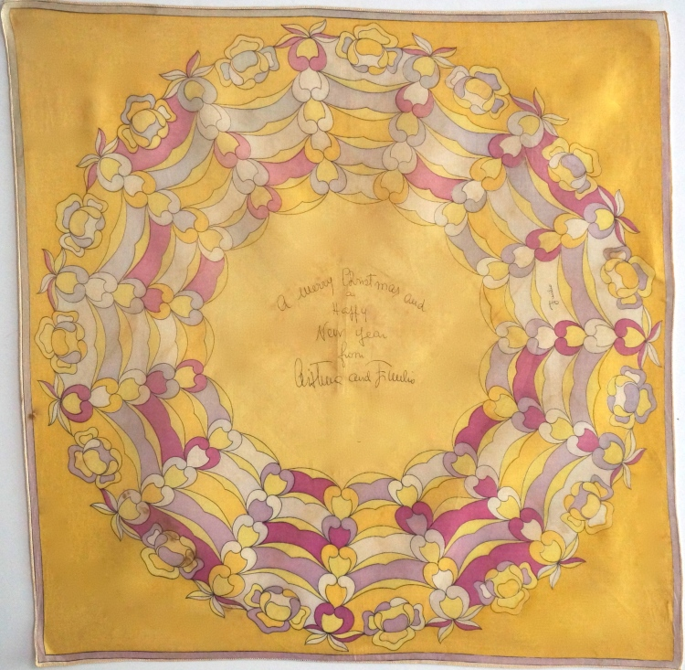 Vintage Christmas Pucci scarf