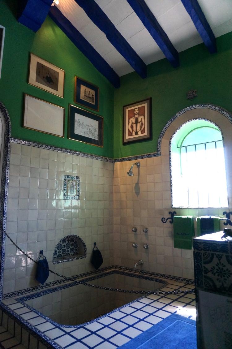 The Green Bathroom