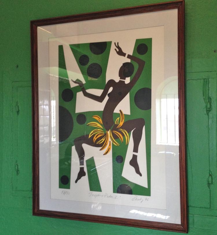 Josephine Baker print by Robert Brady