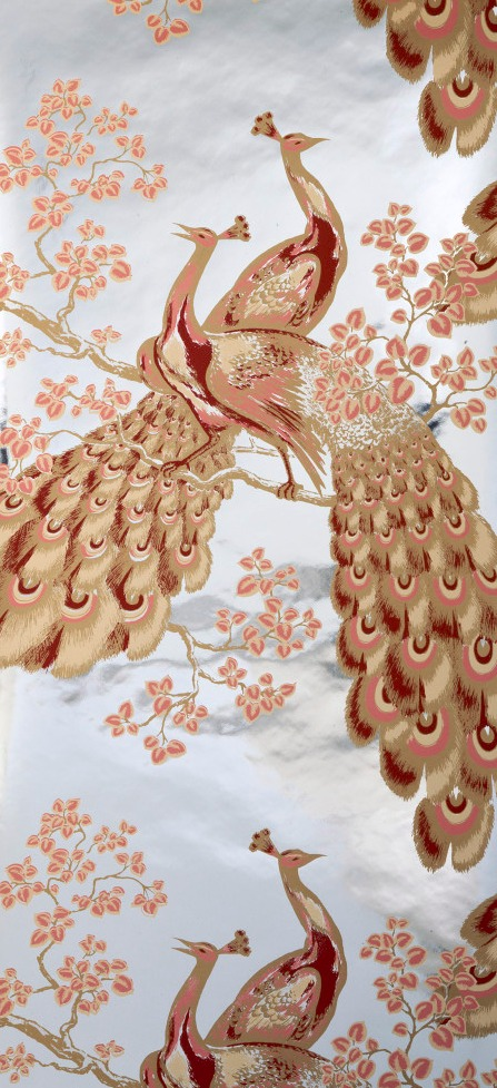 Peacock Wallpaper by Florence Broadhurst. Image courtesy of the Museum of Applied Arts and Sciences