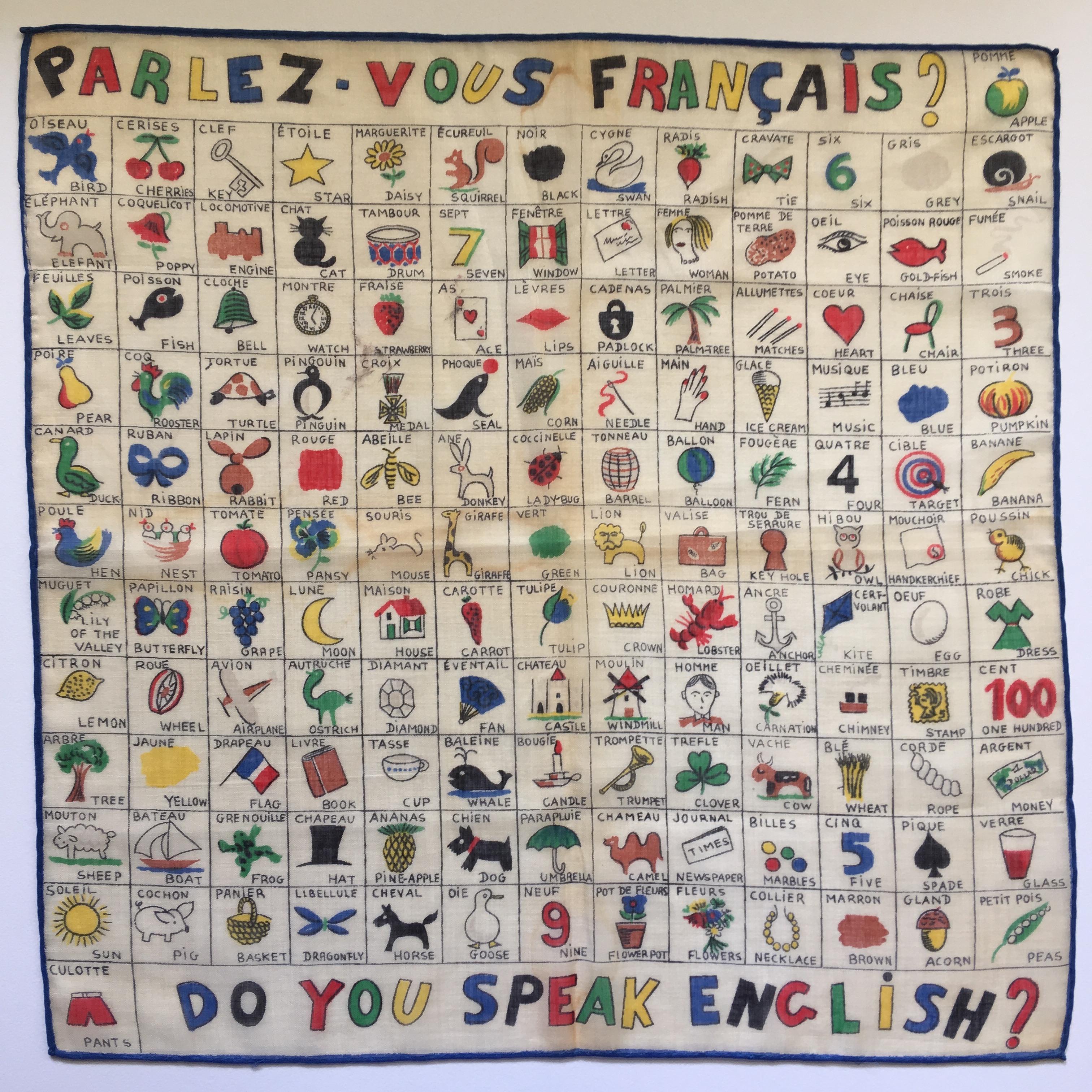 Parlez Vous Francais The Eye Has It